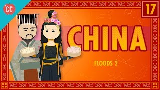 On this Crash Course in World Mythology, Mike Rugnetta is teaching you about floods and deluges, specifically in China. In Chinese myth, flood stories pretty much all revolve around a guy named Yu the Great, or Yu the Engineer. In the distant past, he was tasked with stopping the flooding on the Yangtze and Yellow rivers, and he did it. After working on the job for 13 years. Yu also founded the legendary Xia Dynasty. Yu exists as a sort of model for future emperors. He works tirelessly on behalf of his people, and always does the right thing. He's a good emperor, and a model for rulers to emulate. He's also super cool, and can turn into a bear when he needs to dig really fast.Get a free trial of Adobe Creative Cloud! http://www.adobe.com/creativecloud.htmlCrash Course is on Patreon! You can support us directly by signing up at http://www.patreon.com/crashcourseThanks to the following Patrons for their generous monthly contributions that help keep Crash Course free for everyone forever:Mark, Les Aker, Bob Kunz, mark austin, William McGraw, Jeffrey Thompson, Ruth Perez, Jason A Saslow, Shawn Arnold, Eric Prestemon, Malcolm Callis, Steve Marshall, Advait Shinde, Rachel Bright, Khaled El Shalakany, Sam Hickman, Ian Dundore, Asif Ahmed, Tim Curwick, Ken Penttinen, Dominic Dos Santos, Caleb Weeks, Frantic Gonzalez, Kathrin Janßen, Nathan Taylor, Yana Leonor, Andrei Krishkevich, Brian Thomas Gossett, Chris Peters, Kathy & Tim Philip, Mayumi Maeda, Eric Kitchen, SR Foxley, Tom Trval, Andrea Bareis, Moritz Schmidt, Jessica Wode, Daniel Baulig, Jirat --Want to find Crash Course elsewhere on the internet?Facebook - http://www.facebook.com/YouTubeCrashCourseTwitter - http://www.twitter.com/TheCrashCourseTumblr - http://thecrashcourse.tumblr.com Support Crash Course on Patreon: http://patreon.com/crashcourseCC Kids: http://www.youtube.com/crashcoursekids