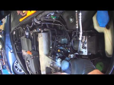 Audi B6: 1.8T AMB Oil Dipstick Tube Replacement