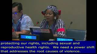 Sylvie Jacqueline Ndongmo's Intervention at HLPF 2019: http://webtv.un.org