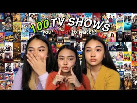 100 BINGE-WORTHY SHOWS YOU NEED TO WATCH ! (series recommendations 2020) 📺
