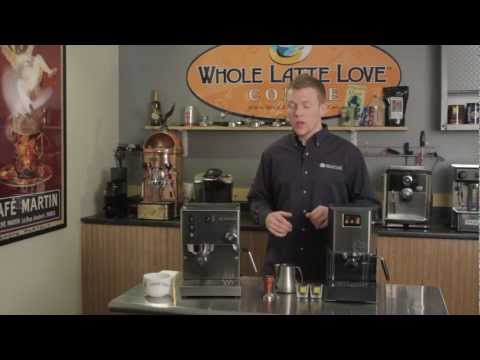 Zack compares the  Rancilio Silvia & Gaggia Classic Espresso Machine