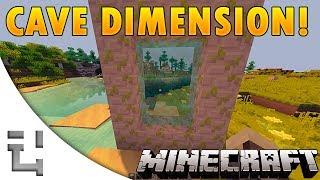 Minecraft Mods - CaveWorld Dimension