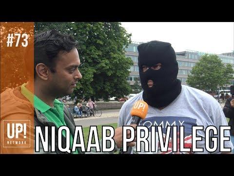 Bivakmuts aangehouden tijdens Niqaabdemo!
