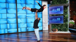Video Jessica Biel's Amazing 'Dirty Dancing' Entrance Is Ellen's Best One Yet download in MP3, 3GP, MP4, WEBM, AVI, FLV January 2017