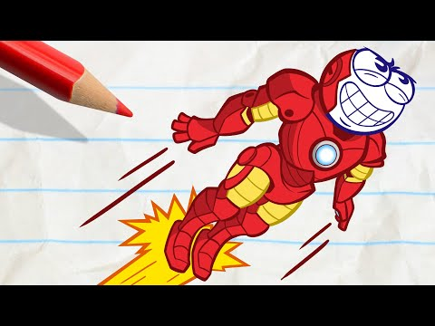 Pencilmate's Crazy Transformation - Pencilmation Cartoons for Kids - Thời lượng: 24 phút.