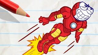 Video Pencilmate's Crazy Transformation - Pencilmation Cartoons for Kids MP3, 3GP, MP4, WEBM, AVI, FLV Januari 2019