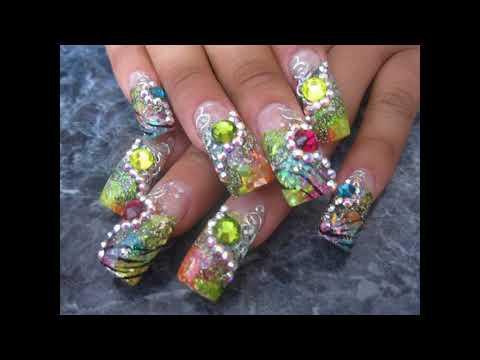 Decorados de uñas - Estilo y Moda tendencias Uñas decoradas con acrilico
