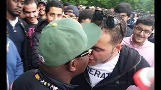 Video MUSLIMS BREAK UP FIGHT AND PROTECT RACIST ANTI MUSLIM | ABDUL HAMID INTERVENES | SPEAKERS CORNER MP3, 3GP, MP4, WEBM, AVI, FLV Agustus 2018