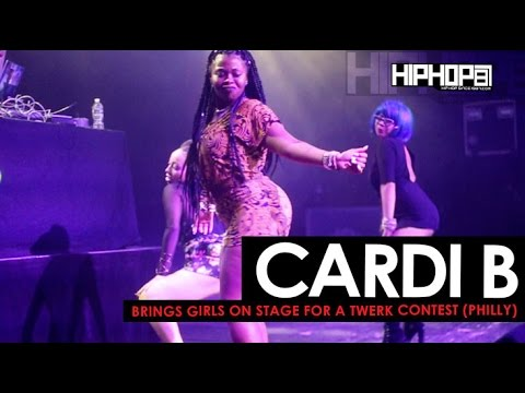 Cardi B Brings Girls On Stage for A Twerk Contest in Philly (HHS1987 Exclusive)