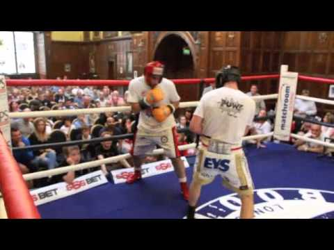 tommy - CURTIS WOODHOUSE STOPS TOMMY COYLE IN CONTROVERSIAL ENDING / JEROME WILSON FUND RAISER FULL EXHIBITION FIGHT FOOTAGE.