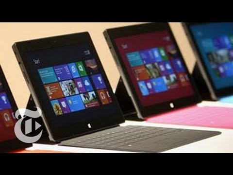 Microsoft's Surface Tablet Reviewed  - David Pogue