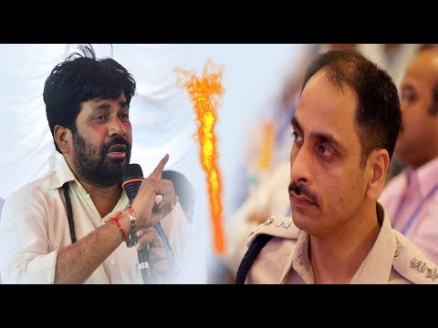 Bcchu Kadu And Sp Abhinash Kumar Conversation