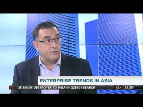 What business technology trends will be dominating Asia in 2015?