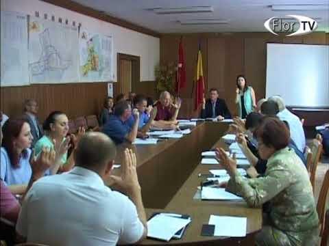 Ședința a Consiliului orașenesc Florești din 30 08 2017