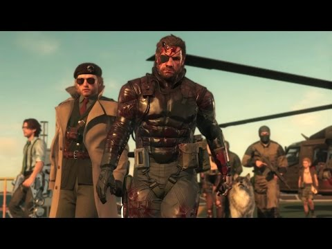 metal gear solid 5 official trailer