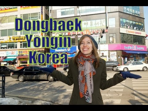 Wandering around Dongbaek Yongin