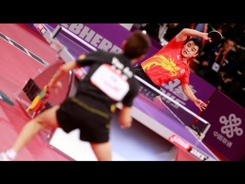WTTC 2013 Highlights: Wang Hao vs Yan An (1/4 Final)