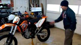 10. 2009 KTM 450XCF 450 XCF Like New For Sale In Chattanooga, TN $4750