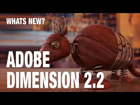 ADOBE DIMENSION 2.2 NOW SUPPORTS SUBSTANCE