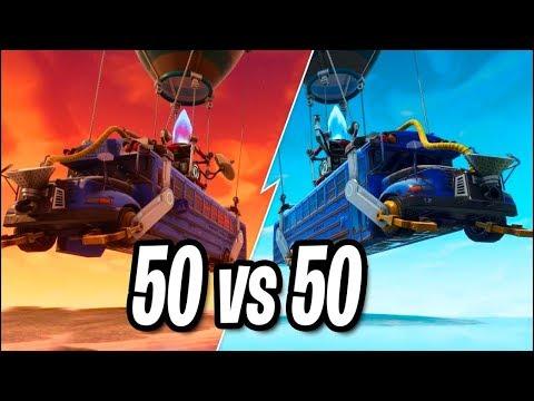 *NEW* LE NOUVEAU MODE DE JEU 50 VS 50 SUR FORTNITE !