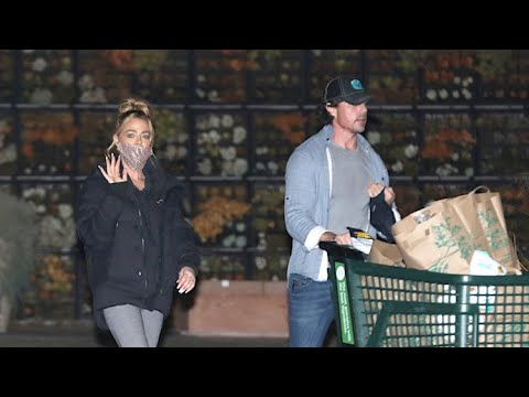 Denise Richards And Hubby Aaron Phypers Load Up On Groceries Before Quarantine Return