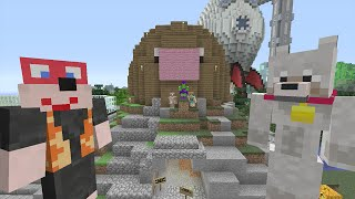 Minecraft Xbox Lets Play - Survival Madness Adventures - Mole Hunter [115]