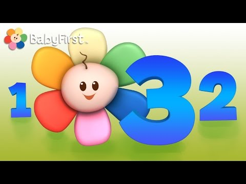 Apprendre à compter | Apprendre à compter et reconnaître les chiffres pour les enfants par BabyFirst
