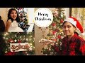 Christmas Eve Vlog I Truth about Santa I Baking Christmas Cookies I Happy Home Happy Life