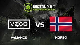 NOREG vs Valiance, Bets.net Challanger Series