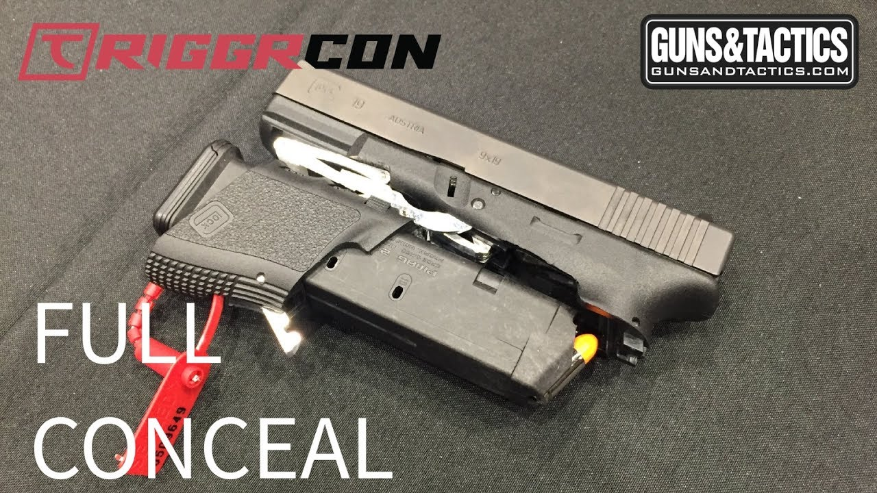 Folding Glock by Full Conceal creates a huge buzz at TRIGGRCON