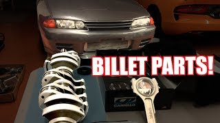 Billet Engine Parts! - TRC R32 GTR Build Episode 4 by  That Racing Channel