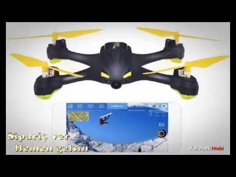 Drone ✔️ GPS, Anlık görüntü aktarım, Follow me, AH mode 720P HD Kamera
