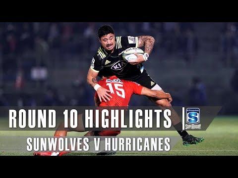 ROUND 10 HIGHLIGHTS: Sunwolves v Hurricanes – 2019