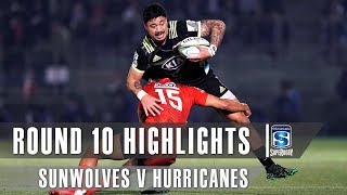 Sunwolves v Hurricanes Rd.10 2019 Super rugby video highlights | Super Rugby Video Highlights