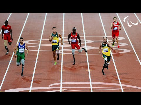 Paralympic - GOLD OLIVEIRA Alan Fonteles Cardoso BRA - Brazil SILVER PISTORIUS Oscar RSA - South Africa BRONZE LEEPER Blake USA - United States of America The Internation...
