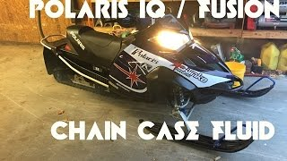 10. How to change the fluid in your Polaris IQ / Fusion Chain Case