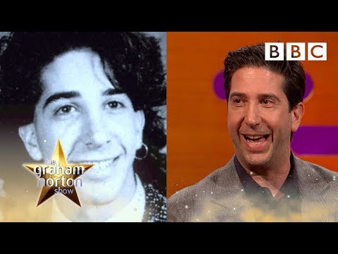 What David Schwimmer did before fame will amaze you! | The Graham Norton Show - BBC