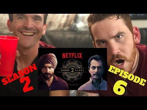 SACRED GAMES  Season 2 Episode 6 REACTION!!!  | Saif Ali Khan | Nawazuddin Siddiqui