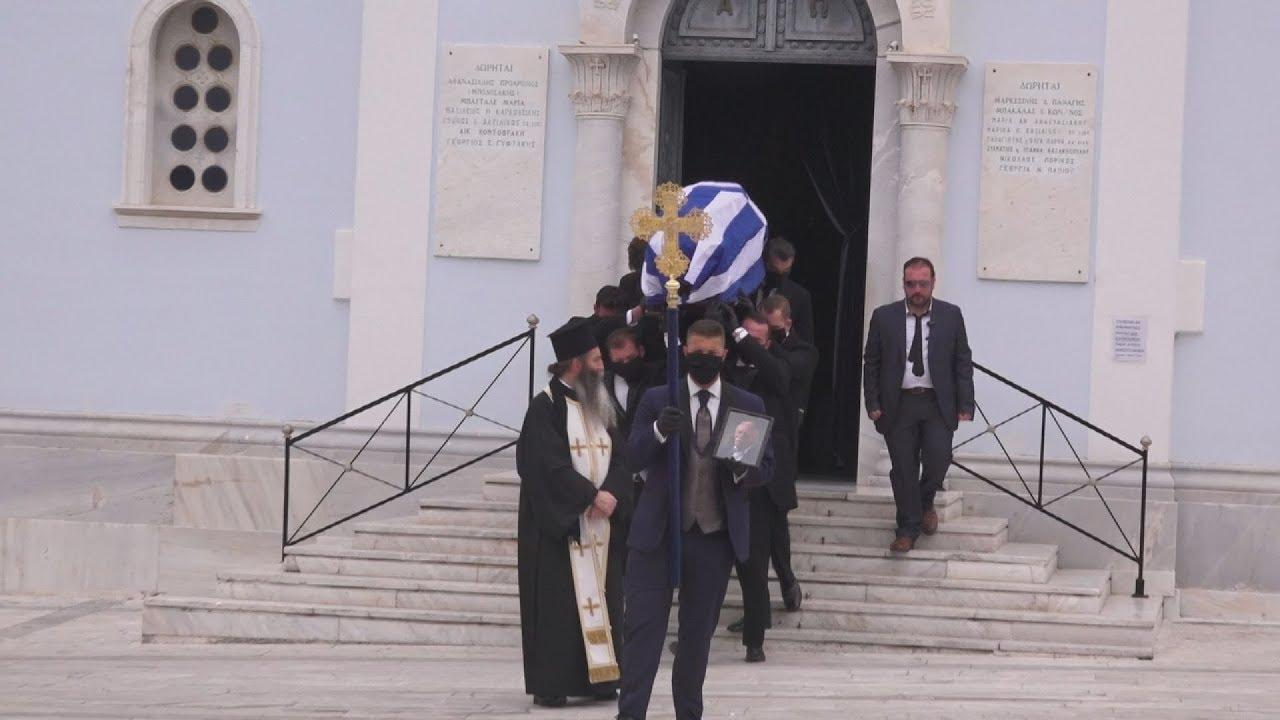 Το τελευταίο αντίο στο μεγάλο έλληνα αγωνιστή Μανώλη Γλέζο