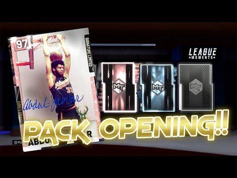 PINK DIAMOND KAREEM ABDUL JABBAR PACK OPENING NBA 2K19 MYTEAM PACK OPENING