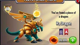 Dragon City  Ra Dragon [Mini Summer Island  Full Unlock 2017] ▫ • Ra Dragon : When the Ra Dragon was just a hatchling,...