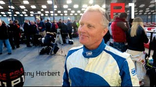 Johnny Herbert's celebrity karting day feat. XCar & Colin Furze