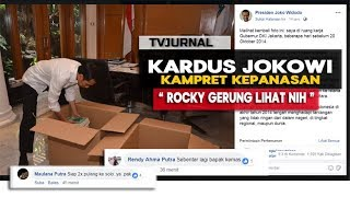 Video VIRAL KARDUS JOKOWI ! Bikin Rocky Gerung Nangis & Para Kampret Kepanasan MP3, 3GP, MP4, WEBM, AVI, FLV April 2019