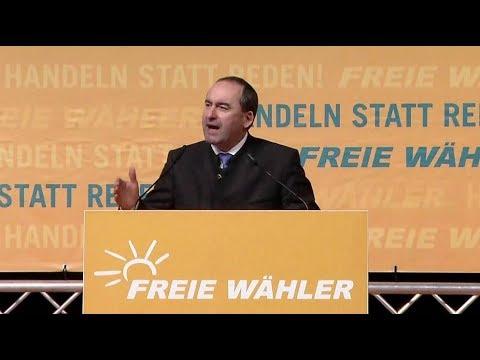 Freie Wähler in Deggendorf: Hubert Aiwanger läutet  ...