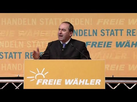 Freie Wähler in Deggendorf: Hubert Aiwanger läutet Wahl ...