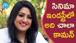 It Is Very Common In The Film Industry - Sana    Soap Stars With Harshini