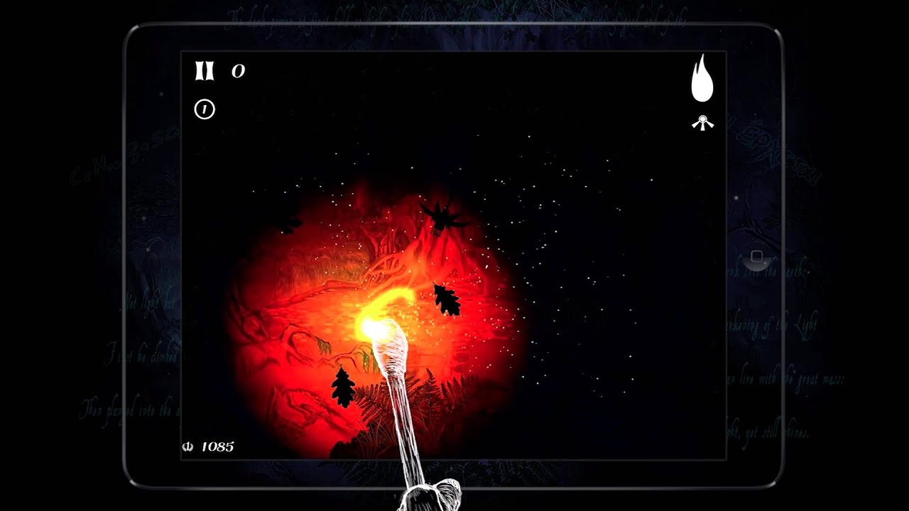 Check Out 'Primal Flame', an Upcoming Atmospheric Arcade Game Where Your Finger is the Match