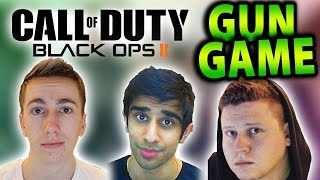CoD Black Ops 2 Wager Match #4 with Vikkstar (CoD Gun Game)