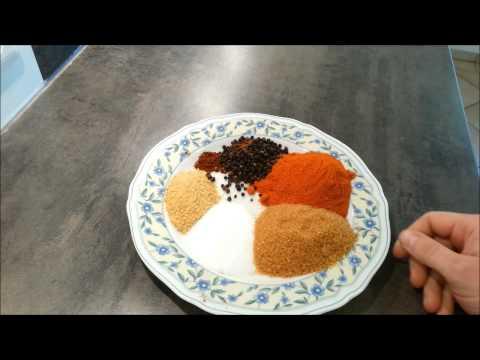Rub Pulled Pork Rezept BBQ Anleitung Gewürzmischung Dutch Oven  Grillen Deutsch
