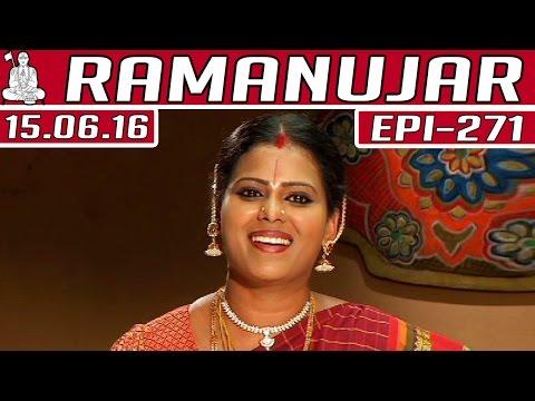 Ramanujar-Epi-271-15-06-2016-Kalaignar-TV